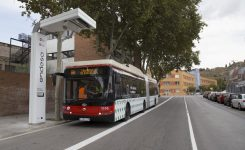Electric buses in Barcelona charged in 5min with a 400kW charger from Ekoenergetyka-Polska