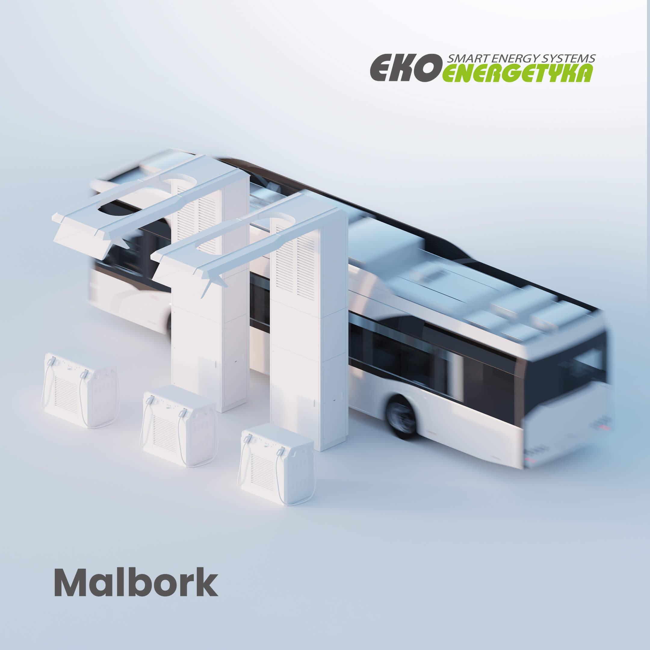 Infrastruktura ładowania Ekoenergetyki wMalborku