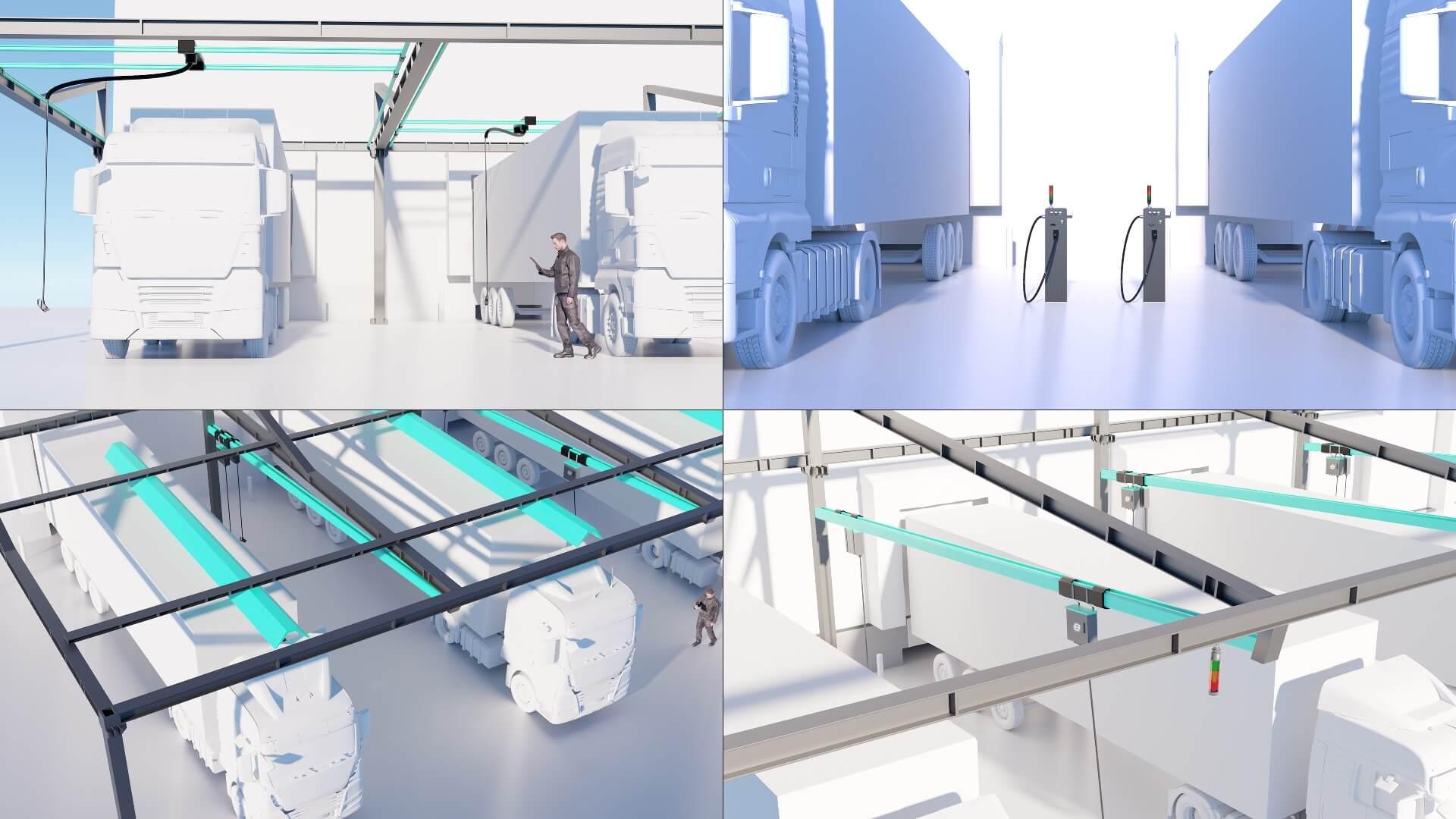 Systemy ładowania Ekoenergetyki dla eTruck